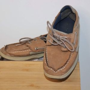 Sperry Topsider Boys Lanyard Size 3.5 Shoes Guc  S